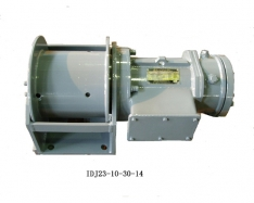 One ton electric winch